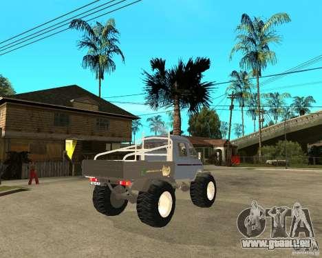 GAS KeržaK (Swamp Buggy) für GTA San Andreas zurück linke Ansicht