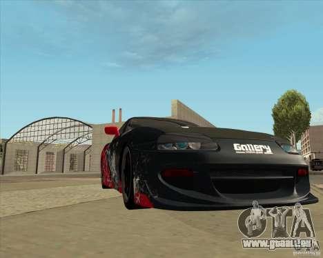 Toyota Supra by Cyborg ProductionS pour GTA San Andreas vue de côté