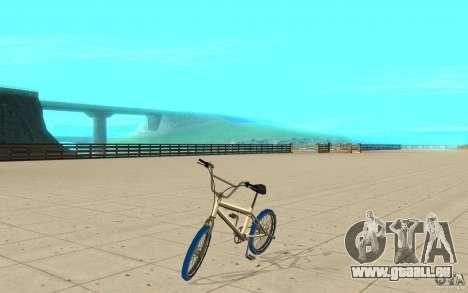 Zeros BMX BLUE tires pour GTA San Andreas