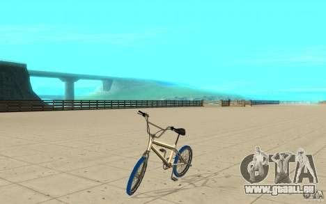Zeros BMX BLUE tires für GTA San Andreas
