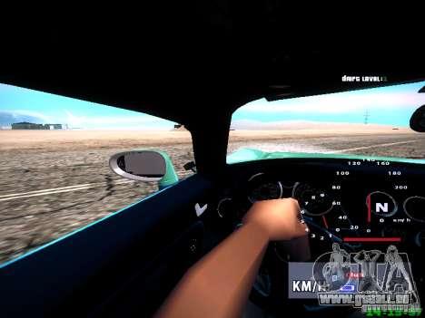 Pontiac Solstice Falken Tire pour GTA San Andreas vue de dessus