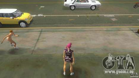 Girl Player mit 11skins für GTA Vice City zweiten Screenshot