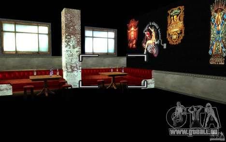 New Bar pour GTA San Andreas troisième écran