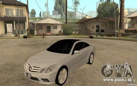 Mercedes Benz E-CLASS Coupe pour GTA San Andreas