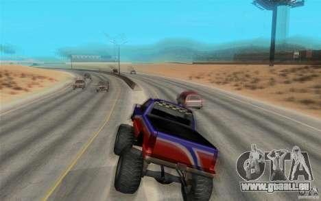 Maximum speed pour GTA San Andreas