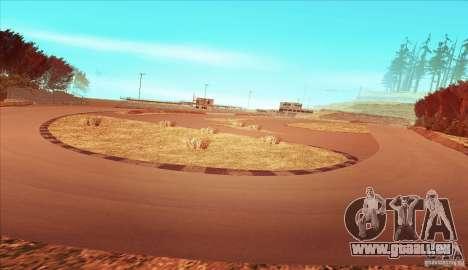 The Ebisu South Circuit pour GTA San Andreas troisième écran