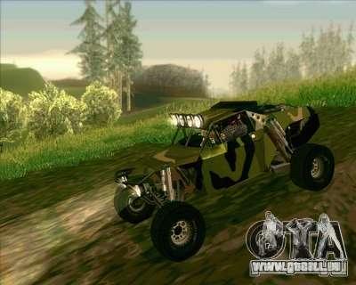 Ickler Jimco Buggy pour GTA San Andreas vue arrière