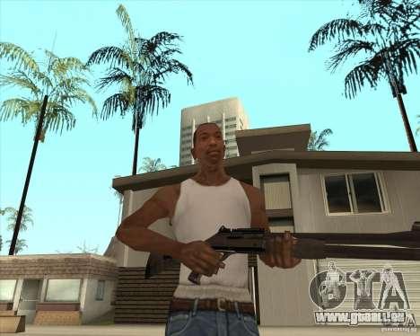 Fusil de chasse automatique pour GTA San Andreas troisième écran