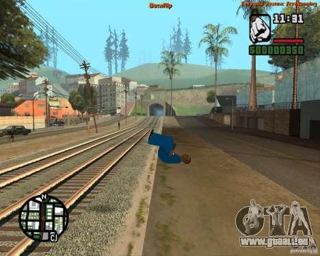 Haut-Tracer für GTA San Andreas zweiten Screenshot