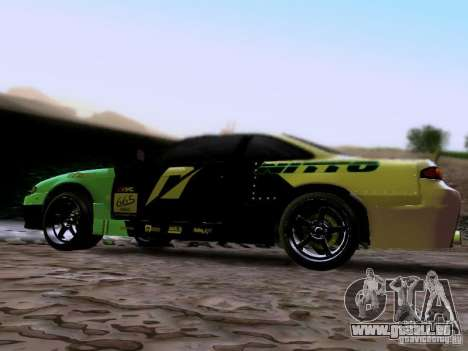 Nissan Silvia S14 Matt Powers v4 2012 für GTA San Andreas linke Ansicht
