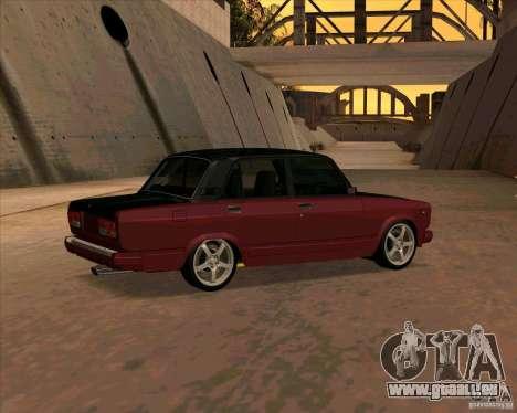 VAZ-2107 für GTA San Andreas rechten Ansicht