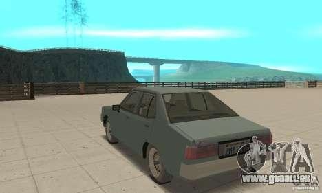 Mitsubishi Galant Sigma 1980 pour GTA San Andreas sur la vue arrière gauche