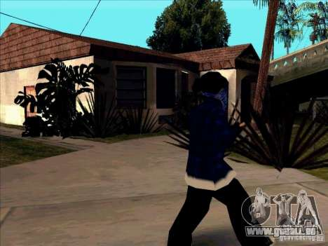 Crips Gang pour GTA San Andreas troisième écran