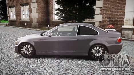 BMW 3 Series E46 v1.1 pour GTA 4 est une gauche