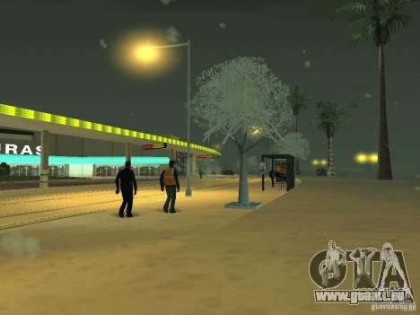Neige v 2.0 pour GTA San Andreas cinquième écran