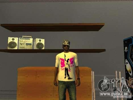 T-shirt tectonique pour GTA San Andreas