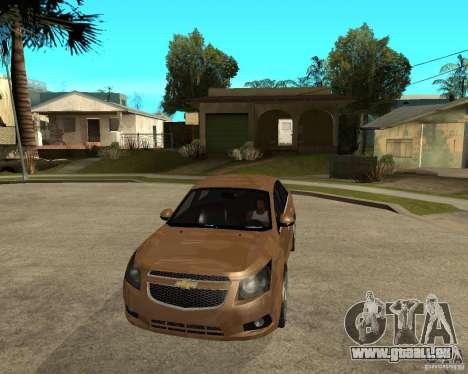 Chevrolet Cruze pour GTA San Andreas vue arrière