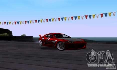 Mazda RX-8 Speed pour GTA San Andreas vue arrière