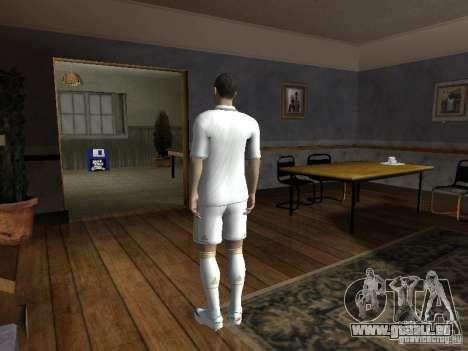 Cristiano Ronaldo pour GTA San Andreas deuxième écran