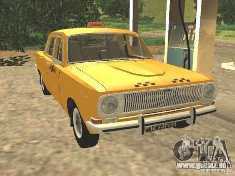 GAZ 24-01-Taxi für GTA San Andreas
