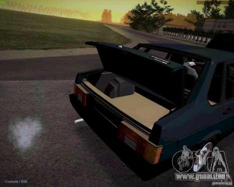 VAZ 21099 Drain pour GTA San Andreas vue de droite