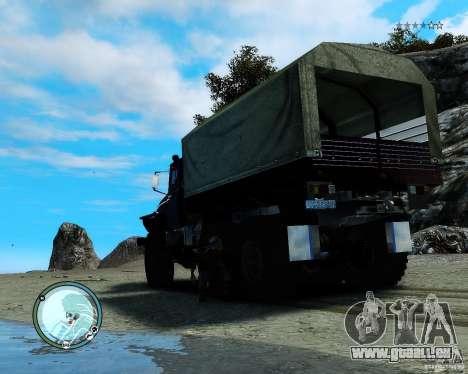 Ural 4320 pour GTA 4 est un droit