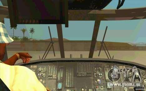 New Raindance für GTA San Andreas Innenansicht