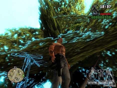 Carbon MP5 mit Schalldämpfer für GTA San Andreas zweiten Screenshot
