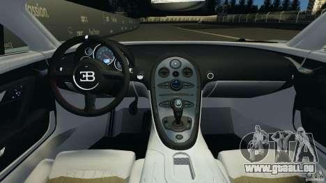 Bugatti Veyron 16.4 Super Sport 2011 v1.0 [EPM] pour GTA 4 Vue arrière