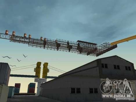 Huge MonsterTruck Track pour GTA San Andreas troisième écran