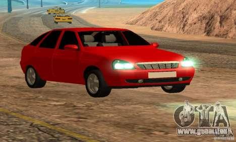 Van LADA priora pour GTA San Andreas vue de côté