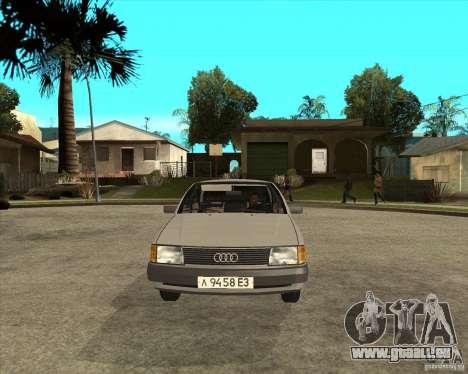 Audi 100 pour GTA San Andreas vue arrière