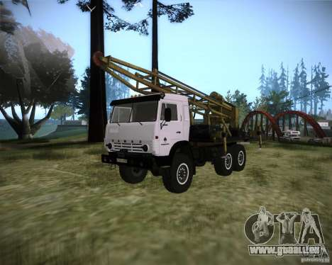 KAMAZ 43118 rig pour GTA San Andreas