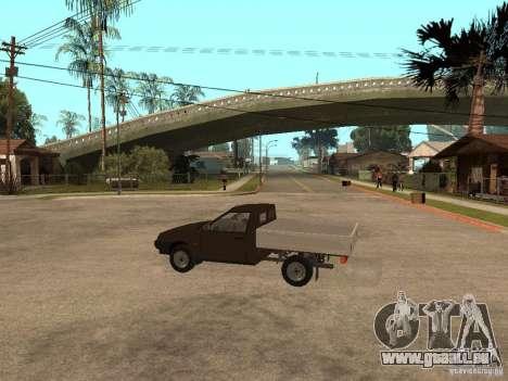 CEP 23472 pour GTA San Andreas sur la vue arrière gauche