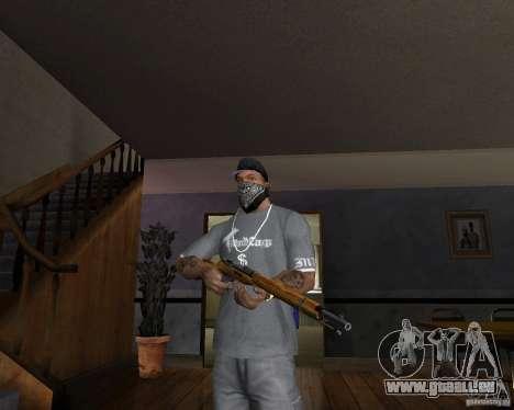 Fusil de chasse M511 pour GTA San Andreas