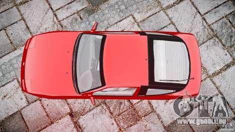 Nissan 240SX pour GTA 4 vue de dessus