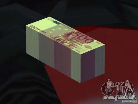 Euro money mod v 1.5 500 euros pour GTA San Andreas