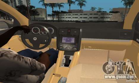 Volkswagen Golf 5 TDI für GTA San Andreas zurück linke Ansicht