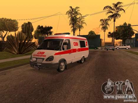 Ambulances de la Gazelle pour GTA San Andreas