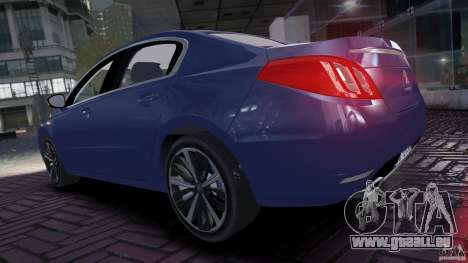 Peugeot 508 Final pour GTA 4 est un droit