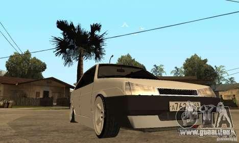 Lada 21099 Light Tuning pour GTA San Andreas vue arrière