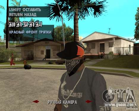 Hip-Hop caps für GTA San Andreas fünften Screenshot