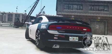Dodge Charger 2011 Police pour GTA 4 est un droit