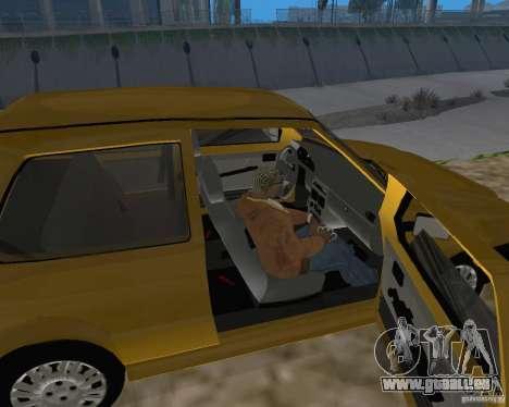 Fiat Mille Fire 1.0 2006 pour GTA San Andreas vue arrière