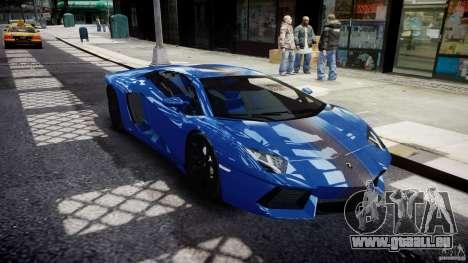 Lamborghini Aventador LP700-4 2011 [EPM] pour GTA 4 est une vue de l'intérieur