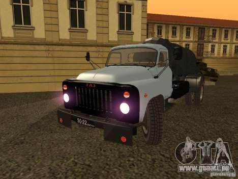 GAZ 53 Flusher für GTA San Andreas