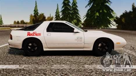 Mazda Savanna RX-7 für GTA 4 linke Ansicht