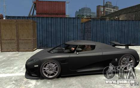 Koenigsegg CCXR Edition V1.0 pour GTA 4 est une gauche