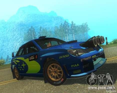 Subaru Impreza WRX STI DIRT 2 pour GTA San Andreas