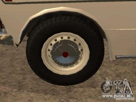 VAZ 2103 Polizei für GTA San Andreas Seitenansicht